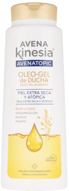 Naturalny olejek pod prysznic - Avena Kinesia Avena Topic 100% Natural Oil-Shower Gel — фото N1