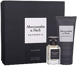 Kup Abercrombie & Fitch Authentic Men - Zestaw (edt 50 ml + sh/gel 200 ml)