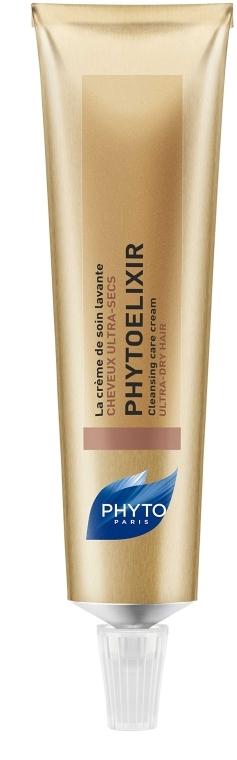 Pielęgnujący krem myjący do włosów suchych i bardzo suchych - Phyto Phytoelixir Cleansing Care Cream — фото N1