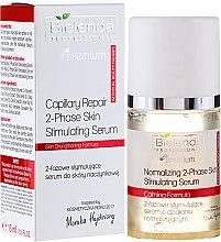 Kup Dwufazowe stymulujące serum do skóry naczynkowej - Bielenda Professional Capilary Repair 2-Phase Skin Simulating Serum