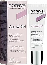 Kup PRZECENA! Przeciwzmarszczkowy krem korygujący do skóry wokół oczu - Noreva Laboratoires Alpha KM Eye Contour *