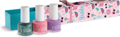 Zestaw lakierów do paznokci dla dzieci 3 x 7ml - Snails Mini Bebe Berry-Licious — фото N1