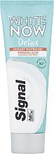 Kup Wybielająca pasta do zębów z ekstraktem z kokosa - Signal White Now Detox Toothpaste