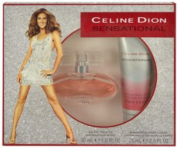 Kup Celine Dion Sensational - Zestaw (edt 30ml + b/lot 75ml)