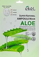 Kup Maska na tkaninie do twarzy z ekstraktem z aloesu - Ekel Super Natural Ampoule Mask Aloe