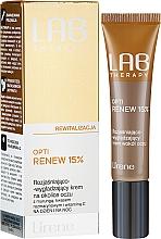 Kup Rozjaśniająco-wygładzający krem na okolice oczu z murungą, kwasem rozmarynowym i witaminą C na dzień i noc - Lirene Lab Therapy Revitality Opti Renew 15%
