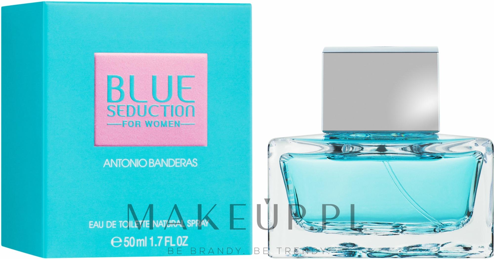 Blue Seduction Antonio Banderas Woman - Woda toaletowa — фото 50 ml