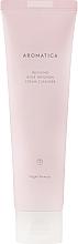 Kup Rewitalizująca kremowa pianka do mycia twarzy z olejkiem różanym - Aromatica Rose Absolute Cream Cleanser