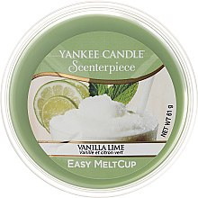 Kup Wosk zapachowy - Yankee Candle Vanilla Lime Scenterpiece Melt Cup