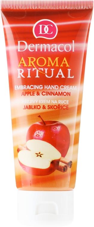 Krem do rąk Jabłko i cynamon - Dermacol Aroma Ritual Apple & Cinnamon Hand Cream — фото N1