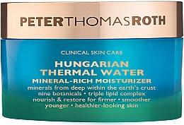 Kup Nawilżający krem do twarzy - Peter Thomas Roth Hungarian Thermal Water Mineral-Rich Moisturizer
