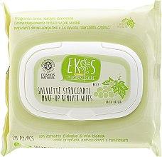 Kup Chusteczki do demakijażu z ekstraktem z białych winogron - Ekos Personal Care
