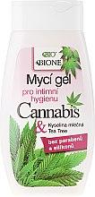 Kup Żel do higieny intymnej z olejem konopnym - Bione Cosmetics Cannabis Intimate Lactic Acid And Tea Tree Wash Gel