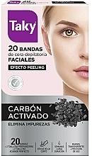 Kup Paski z woskiem do depilacji twarzy z węglem aktywnym - Taky Activated Carbon Facial Wax Strips