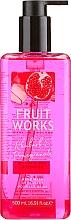 Kup Mydło w płynie do rąk Rabarbar i granat - Grace Cole Fruit Works Hand Wash Rhubarb & Pomegranate