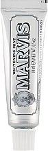 Kup Wybielająca pasta do zębów Mięta - Marvis Whitening Mint Toothpaste (miniprodukt)