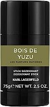 Kup Karl Lagerfeld Bois De Yuzu - Perfumowany dezodorant w sztyfcie dla mężczyzn