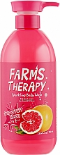 Kup Żel pod prysznic Grejpfrut - Farms Therapy Sparkling Body Wash Grapefruit