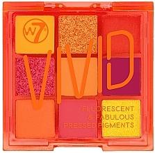 Kup Paleta fluorescencyjnych cieni do powiek - W7 Vivid Fluorescent & Fabulous Pressed Pigments