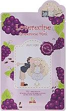 Kup Eksfoliująco-wygładzająca celulozowa maska w płachcie do twarzy z wyciągiem z winogron - Sally's Box Loverecipe Grapestone Mask