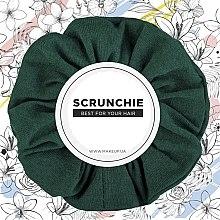 Kup Szmaragdowa gumka do włosów Knit Classic - Makeup