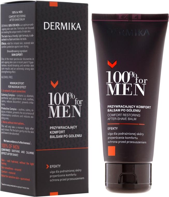 Balsam po goleniu przywracający skórze komfort - Dermika Comfort Restoring After-Shave Balm — фото N1