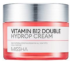 Kup Nawilżający krem z witaminą B12 - Missha Vitamin B12 Double Cream Hydrop