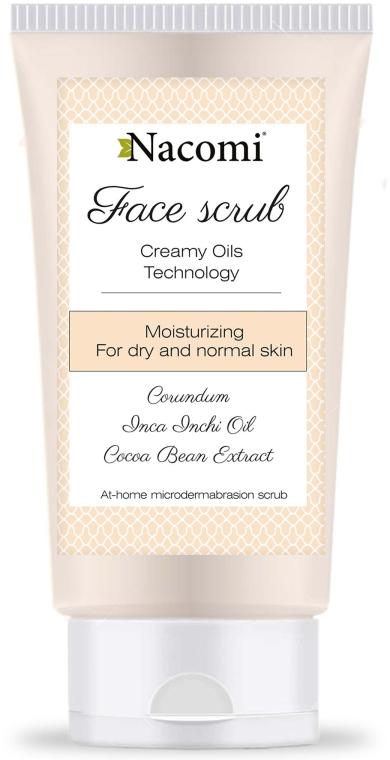 Nawilżający peeling do twarzy - Nacomi Face Scrub — фото N1