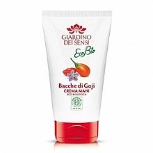 Kup Krem do rąk Jagody goji - Giardino Dei Sensi Ecobio Goji Berries Hand Cream