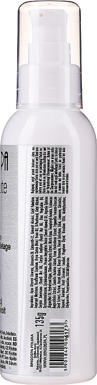 Wyciszające serum do suchej skóry twarzy, szyi i dekoltu - BingoSpa Silencing Serum — фото N2