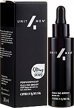 Kup Perfumowany olej do brody - Unit4Men Citrus&Musk Perfumed Beard Oil