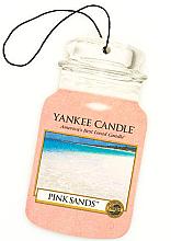 Kup Zapach do samochodu - Yankee Candle Pink Sands Car Jar Ultimate