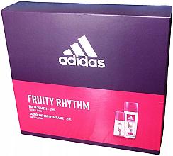 Kup Adidas Fruity Rhythm - Zestaw (edt/30ml + deo/spray/75ml)