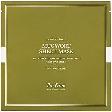 Kup Maska piołunowa w płachcie do twarzy - I'm From Mugwort Sheet Mask