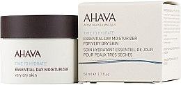 Kup Nawilżający krem do cery suchej - Ahava Time To Hydrate Essential Day Moisturizer Very Dry Skin