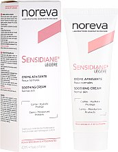 Kup Lekki krem do twarzy - Noreva Laboratoires Sensidiane Legere Soothing Cream Normal Skin