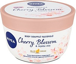 Kup Suflet do ciała z wiśniami i olejem jojoba - Nivea Body Souffle Cherry Blossom & Jojoba Oil
