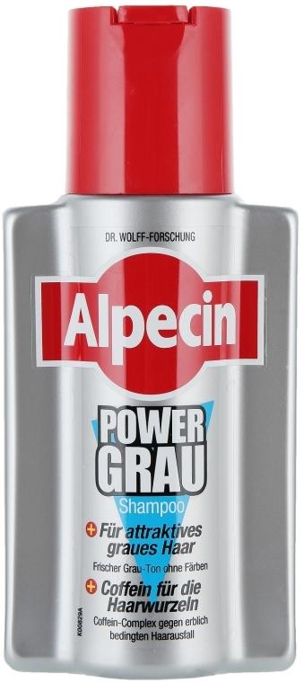 Szampon do włosów siwych - Alpecin Power Grau Shampoo — фото N1