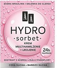 Kup Krem do cery suchej i bardzo suchej Multinawilżenie + odżywienie - AA Hydro Sorbet