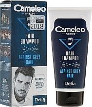 Kup Szampon dla mężczyzn redukujący siwiznę włosów - Delia Cameleo Men