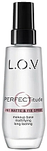 Kup Mgiełka do twarzy - L.O.V PERFECTitude 3in1 Matte & Fix Spray