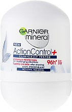 Kup Mineralny antyperspirant w kulce - Garnier Mineral Action Control Clinically 96H Anti-Perspirant Roll-On