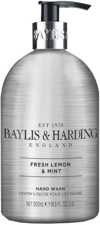 Mydło w płynie do rąk - Baylis & Harding Elements Fresh Lemon & Mint Hand Wash — фото N1