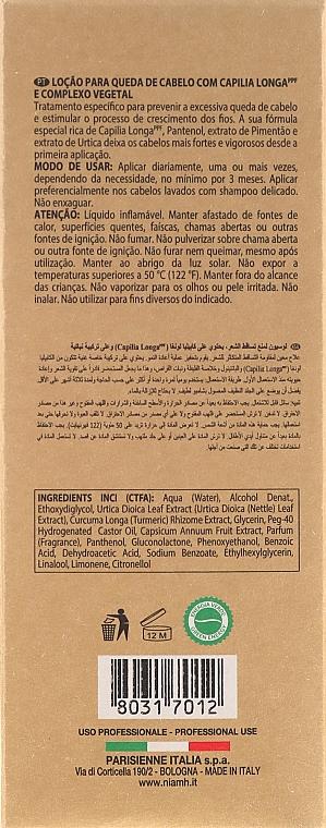 Ochronny lotion przeciw wypadaniu włosów dla mężczyzn - Niamh Hairconcept Dandy Hair Fall Defence Lotion — фото N3