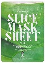 Kup Maska na tkaninie do twarzy Aloes - Kocostar Slice Mask Sheet Aloe