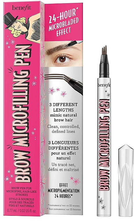 Kredka do brwi - Benefit Brow Microfilling Pen — фото N1