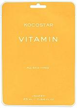 Kup Witaminowa maska rozświetlająca do twarzy - Kocostar Vitamin Mask