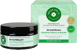 Kup Rewitalizująca maska-odżywka z olejem konopnym - Green Feel's Repairing Hair Conditioner-Mask With Natural Hemp Seed Oil