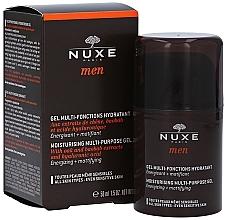 Zestaw - Nuxe Men Hydration Set (shav/gel 35 ml + sh/gel 200 ml + gel 50 ml) — фото N2