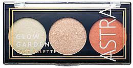 Kup Paletka do makijażu twarzy - Astra Make-Up Glow Garden Face Palette